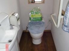 長年お使いいただいたトイレです。