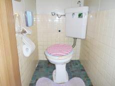 既存のトイレです。ウォシュレットなどは付いていませんでした。