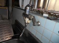 水漏れしていた水栓です。
