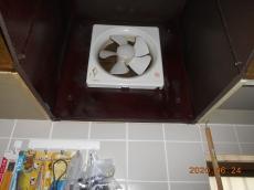 プロペラファンだったため、油やホコリが付着しやすく、お掃除が大変です。