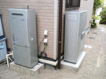 発電・給湯・温水暖房が1台でできるエネファームです。節電にも家計にもうれしいシステムです。