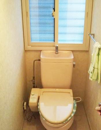 トイレの施工後の様子です。