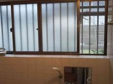 お風呂の窓が大きく、とにかく寒いお風呂でした。