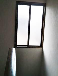 階段の施工前の様子です。