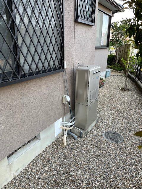 エコジョーズ給湯器お取替えしました。