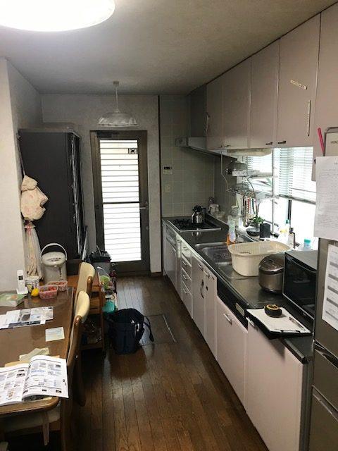 長年慣れ親しんだキッチンともお別れです。