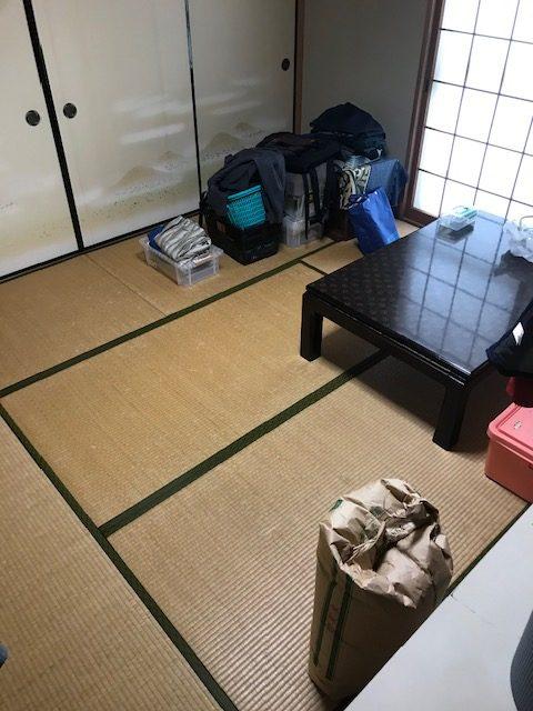 和室の畳も傷んできておりフローリングにしたいとのことでした。